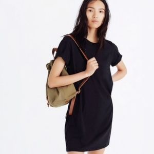 Madewell Classic 100% Cotton Solid Tee Dress